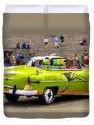 Fast And Furious In Cuba Duvet Cover