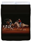 Fast Horses And Sure Ropes Duvet Cover
