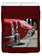 Fast Sports Cars Duvet Cover