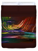 Faster Than The Speed Of Light Duvet Cover