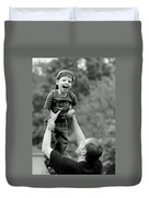 Father And Son IIi Duvet Cover