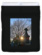 Father Son And The Holy Spirit Duvet Cover