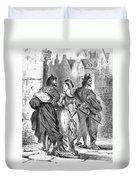 Faust: Mephistopheles 1828 Duvet Cover