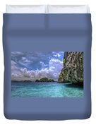 Favorite Color Blue Duvet Cover
