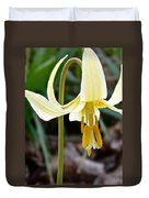 Fawn Lily Duvet Cover