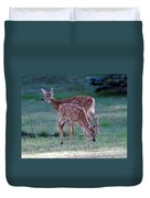 Fawn Twins Duvet Cover