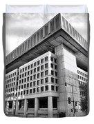 Fbi Building Rear View Duvet Cover