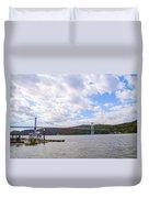 Fdr Mid Hudson Bridge - Poughkeepsie Ny Duvet Cover