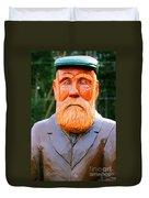 Fear The Beard Golfer Duvet Cover