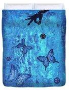 Fearless Butterflies 2011 Duvet Cover