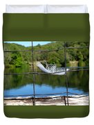 Feather And Fence Duvet Cover