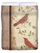 Feathered Friends Duvet Cover