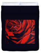 February Rose Duvet Cover