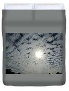 February Sky Duvet Cover