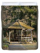 February's Gazebo 2013 Duvet Cover