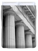 Federal Hall Columns Duvet Cover