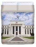 Federal Reserve Building No1 Duvet Cover