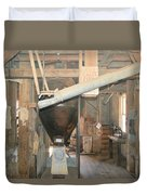 Feed Mill Duvet Cover