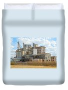Feed Mill Hdr Duvet Cover