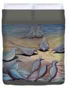 Feed The Birds Duvet Cover