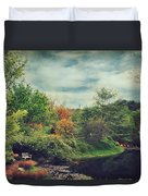 Feed Your Soul Duvet Cover by Laurie Search