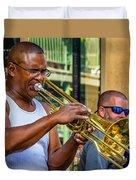 Feel It - New Orleans Jazz  Duvet Cover