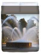 Feel The Mist Duvet Cover