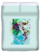 Feeling Abstract Duvet Cover