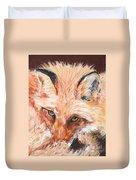 Feeling Foxy Duvet Cover
