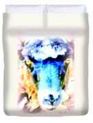 I Have This Terrible Sheep Feeling  Duvet Cover