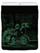 Feeling The Ride Duvet Cover