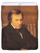 Felicite Robert De Lamennais, 1845 Oil On Canvas Duvet Cover
