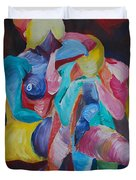 Female Art Duvet Cover