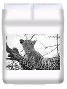 Female Leopard Duvet Cover