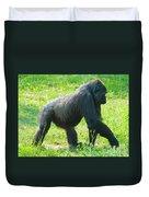 Female Western Lowland Gorilla Duvet Cover