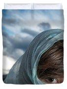 Feminine Mysteries Duvet Cover by Lisa Knechtel