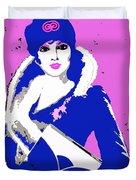 Femme Fatale Premeditated Spring Beauty Duvet Cover