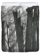 Fence Installation  Duvet Cover