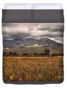 Fence View Duvet Cover