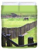 Fenced Duvet Cover