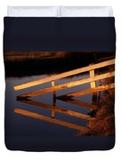 Fenced Reflection Duvet Cover