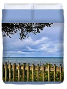 Fenced View Duvet Cover
