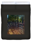 Fenceline 1 Duvet Cover