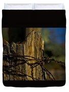 Fenceline 2 Duvet Cover