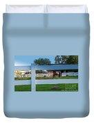 Fences Duvet Cover