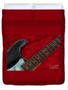 Fender-9657-fractal Duvet Cover