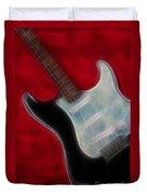Fender-9668-fractal Duvet Cover