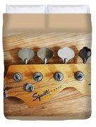 Fender Squier Bass Duvet Cover