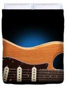 Fender Stratocaster Curves Duvet Cover
