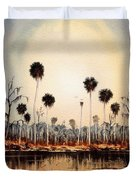 Fenholloway River Florida Duvet Cover